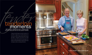 "Taste Magazine ""Tenderloin Moments"" With the aid of a DCS grill and oven, a close-knit Texas foursome enjoys great food and even greater friendship."
