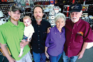 """Clawson's Reaches 50"" Profile of Texas music retailer Clawson's Music on its 50th anniversary"